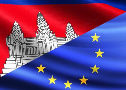 Interruzione di un programma di aiuto americano in Cambogia