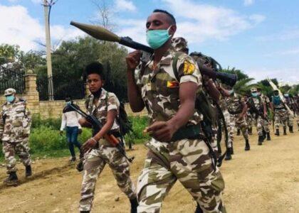 La guerra in Etiopia