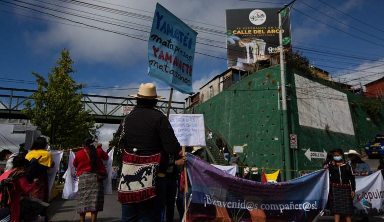 Il Guatemala in piazza contro il presidente