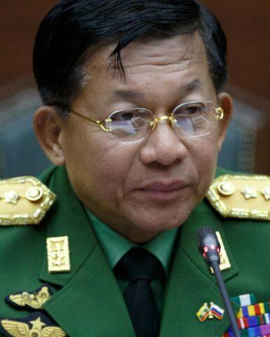 Autoproclamazione primo ministro in Myanmar